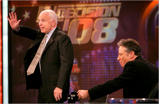 John McCain on The Daily Show with John Stewart
